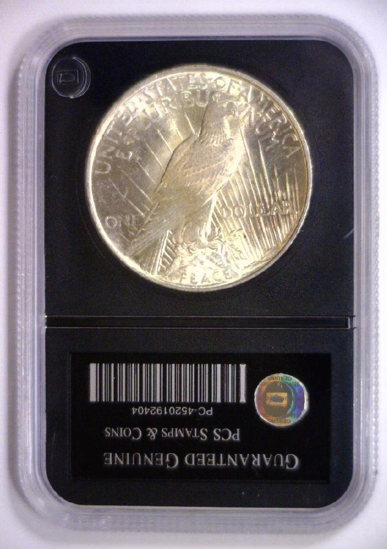 1924 Peace Silver Dollar Uncirculated UNC - 2