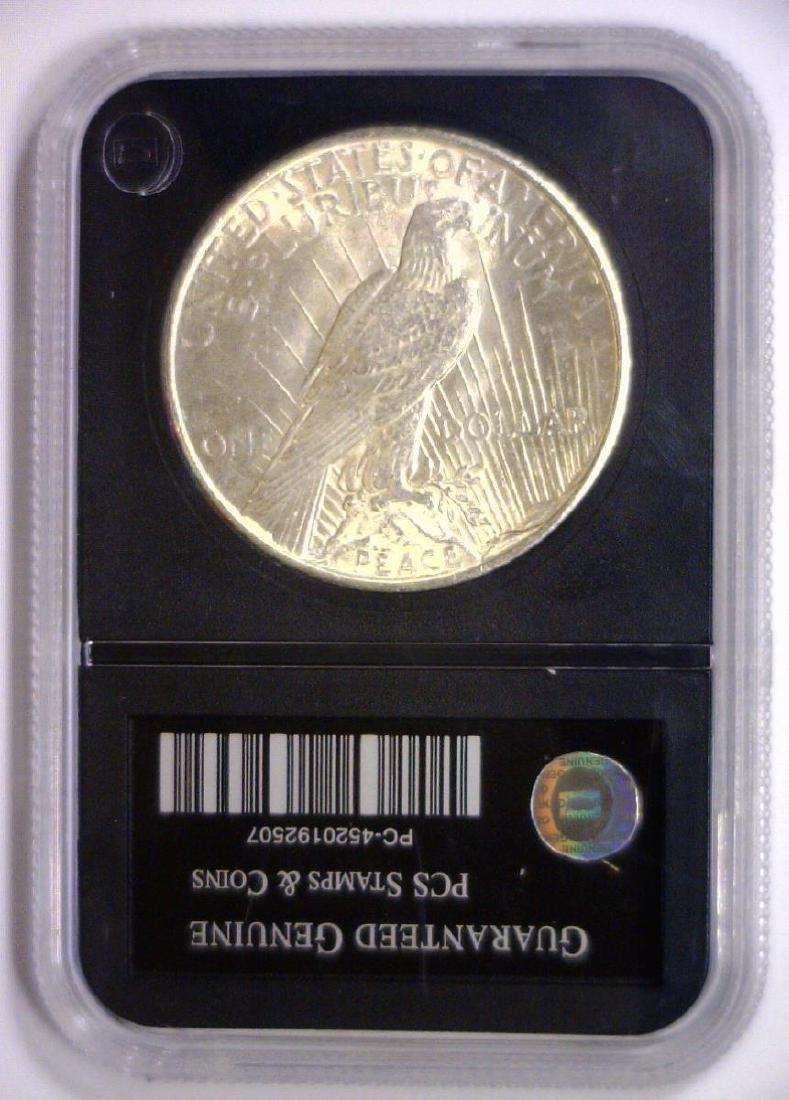 1925 Peace Silver Dollar Uncirculated UNC - 2
