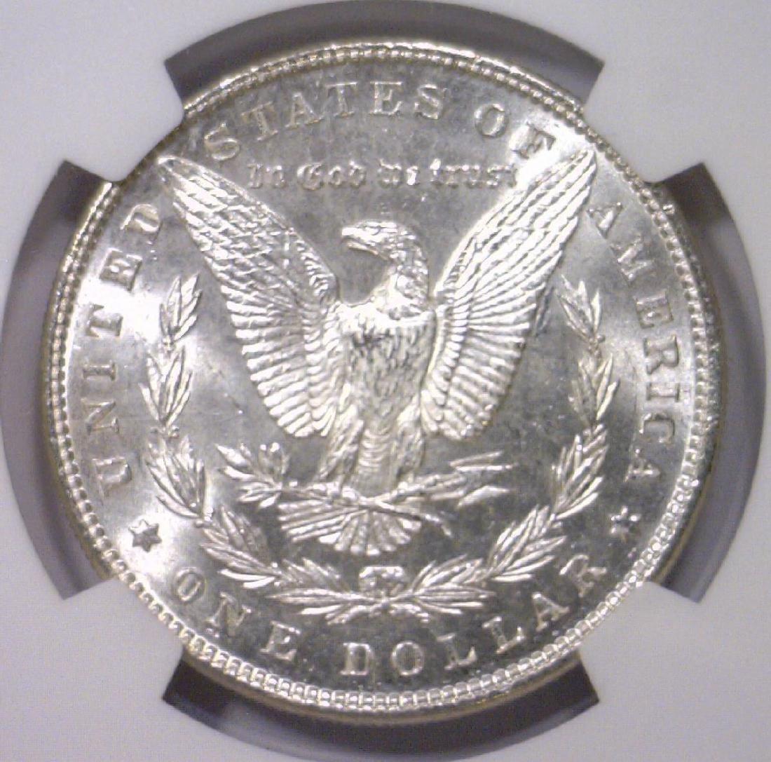 1898 Morgan Silver Dollar NGC MS62 - 3