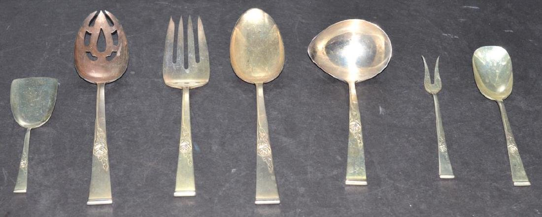 Reed & Barton Classic Rose Sterling Serving Pieces