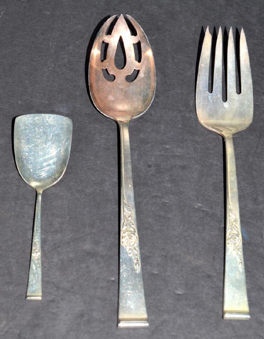 Reed & Barton Classic Rose Sterling Serving Pieces - 2