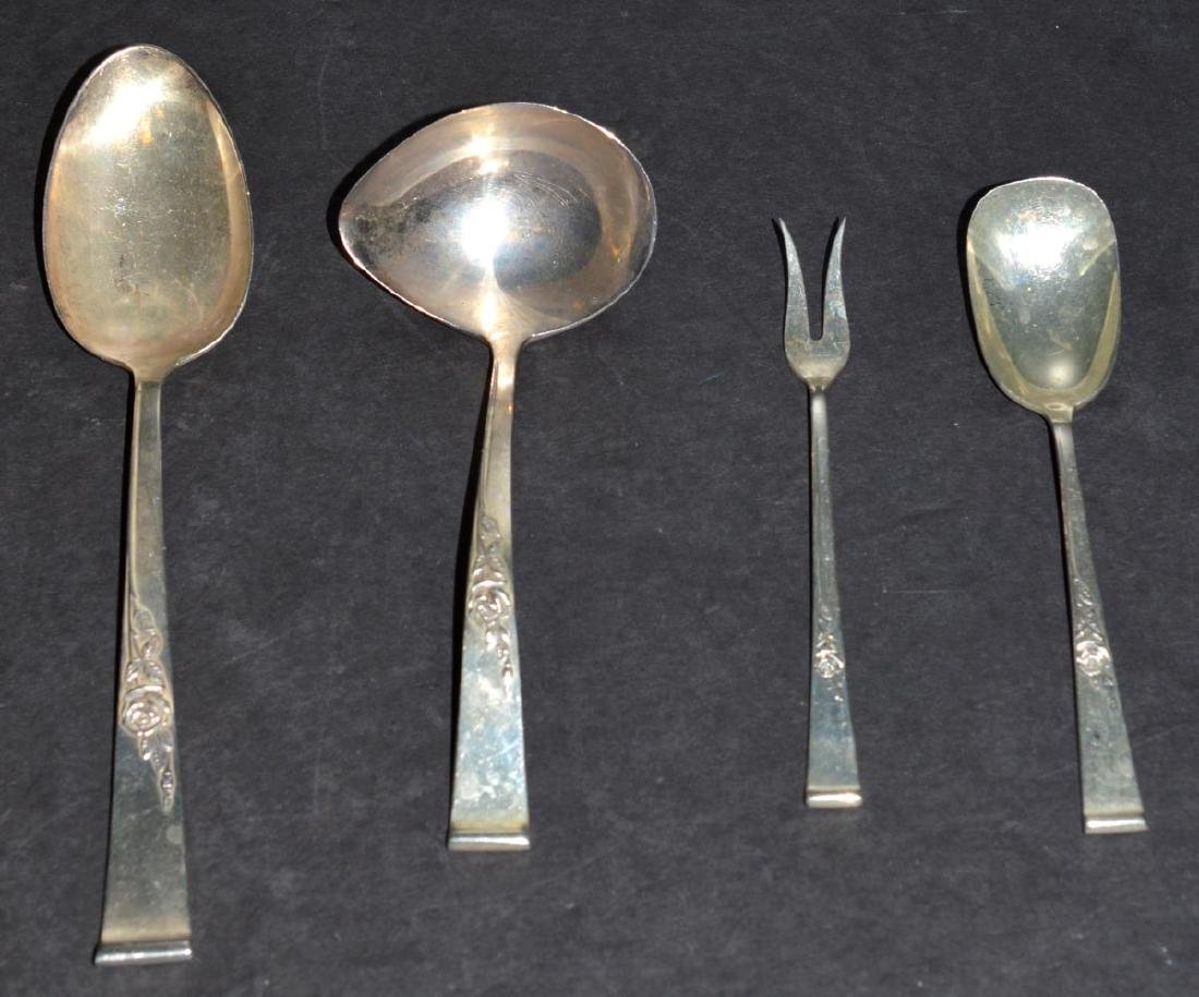 Reed & Barton Classic Rose Sterling Serving Pieces - 3