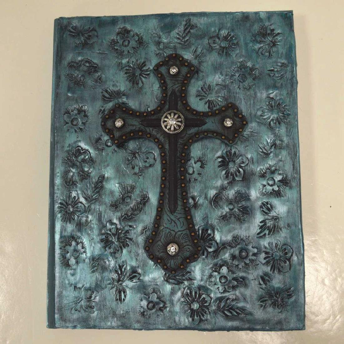 Unique adorned journal by Dena Casteel