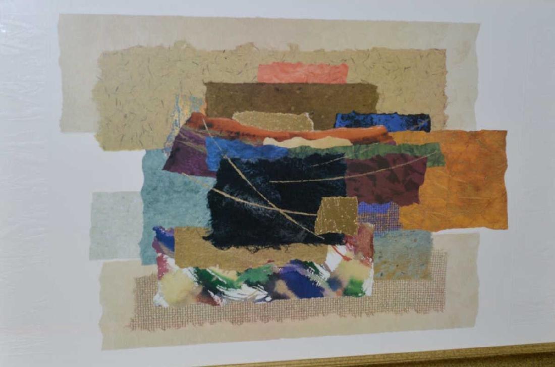 "Steve Strickland ""Matrix VIII"" Abstract Art Print - 2"