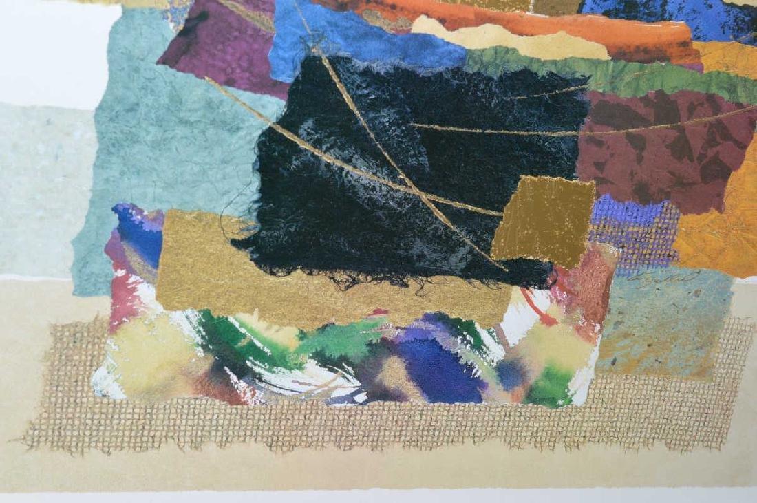 "Steve Strickland ""Matrix VIII"" Abstract Art Print - 3"