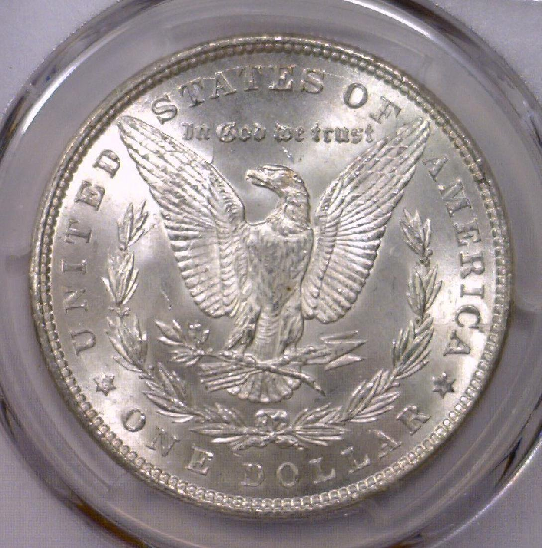 1882 Morgan Silver Dollar Gem BU PCGS MS65 - 3