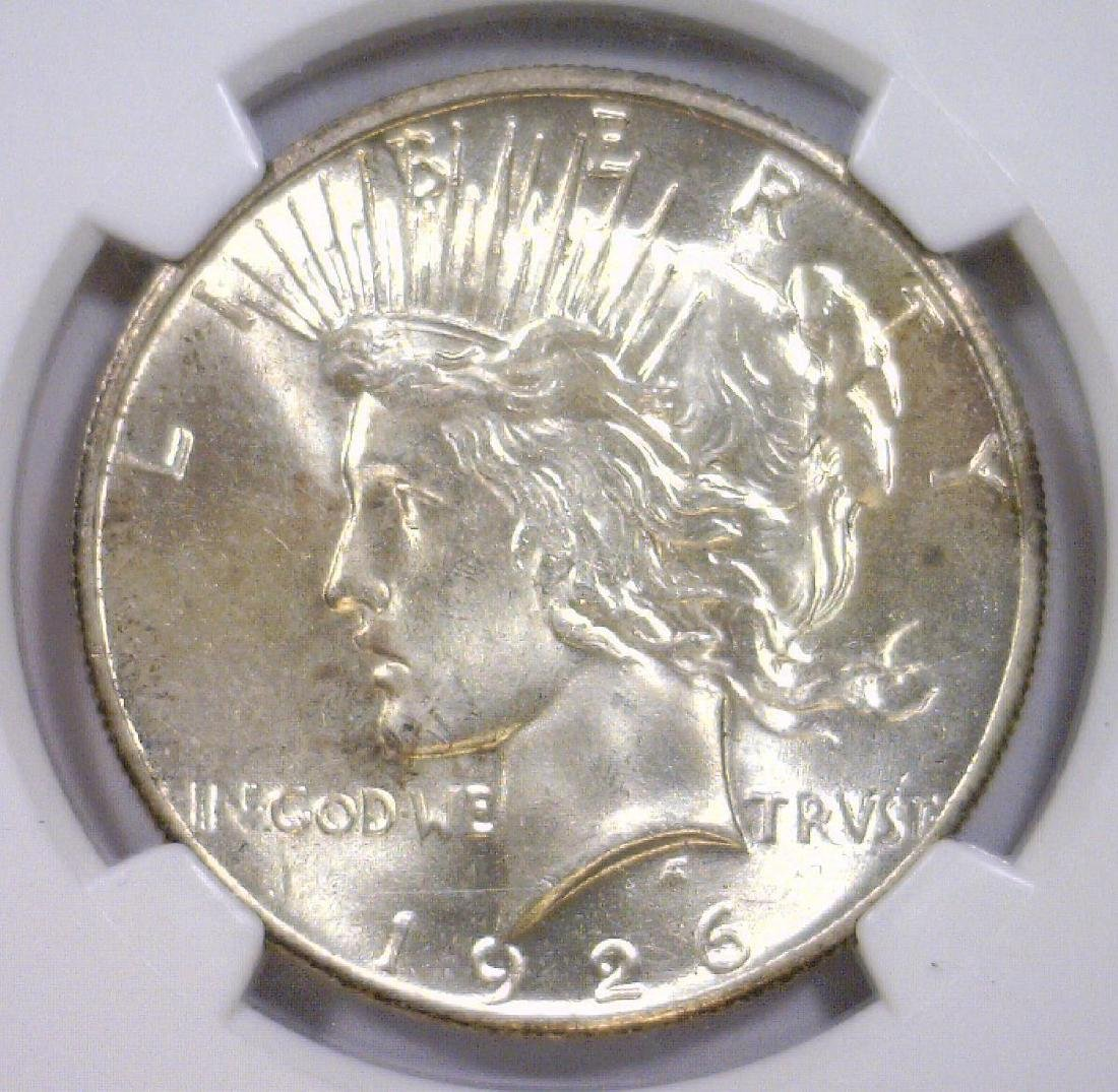 1926 Peace Silver Dollar NGC MS64