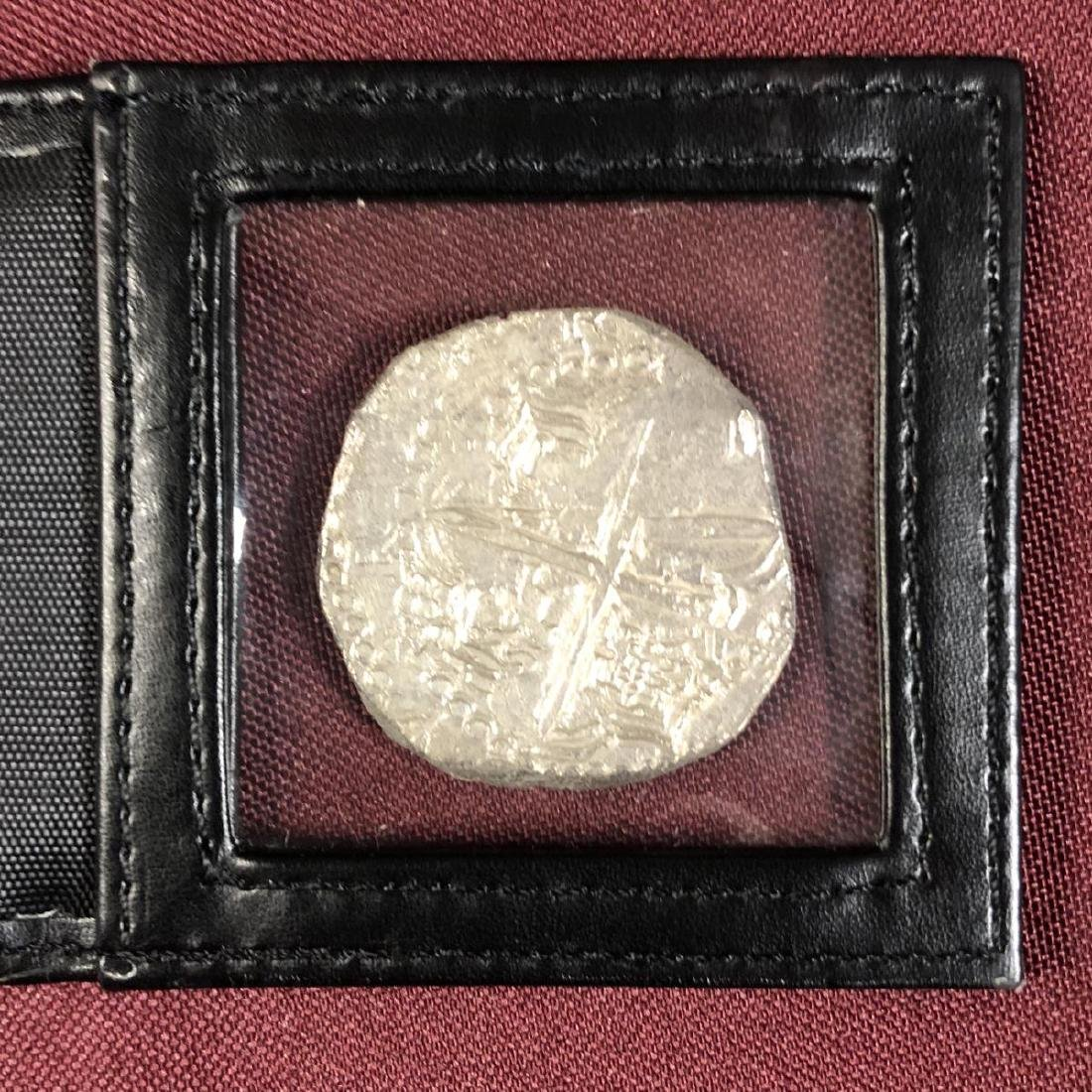 Atocha Shipwreck Coin 8 Reales Mel Fisher with COA - 3