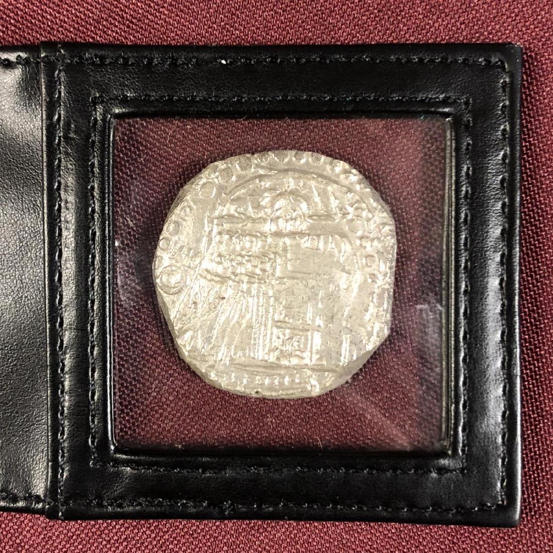Atocha Shipwreck Coin 8 Reales Mel Fisher with COA - 4