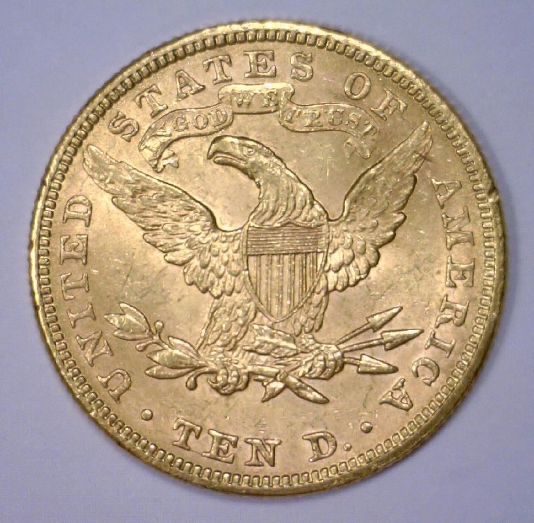 1894 $10 Liberty Gold Eagle Uncirculated BU - 2