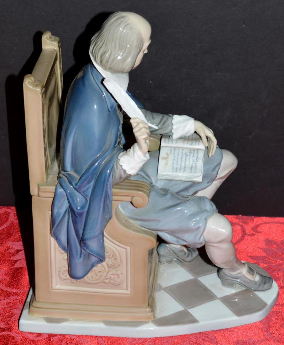 LLadro William Shakespeare Figure #1338 with COA - 5