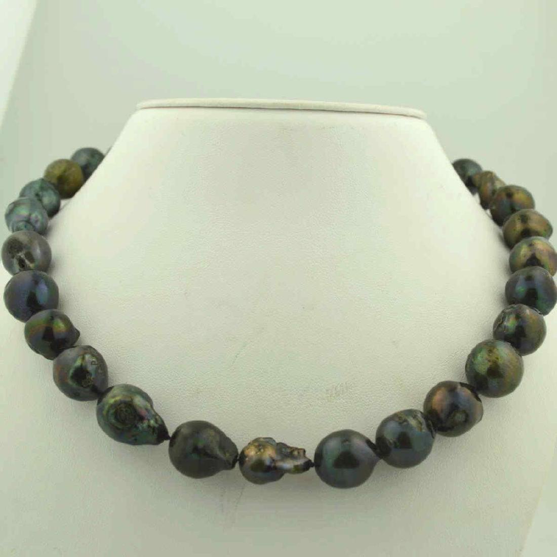 """18"""" baroque South Sea Pearl Necklace"""