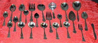 Lot of Misc Silver Plated Flatware Place  Service