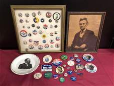 Vintage Presidential Pin & Memorabilia Lot