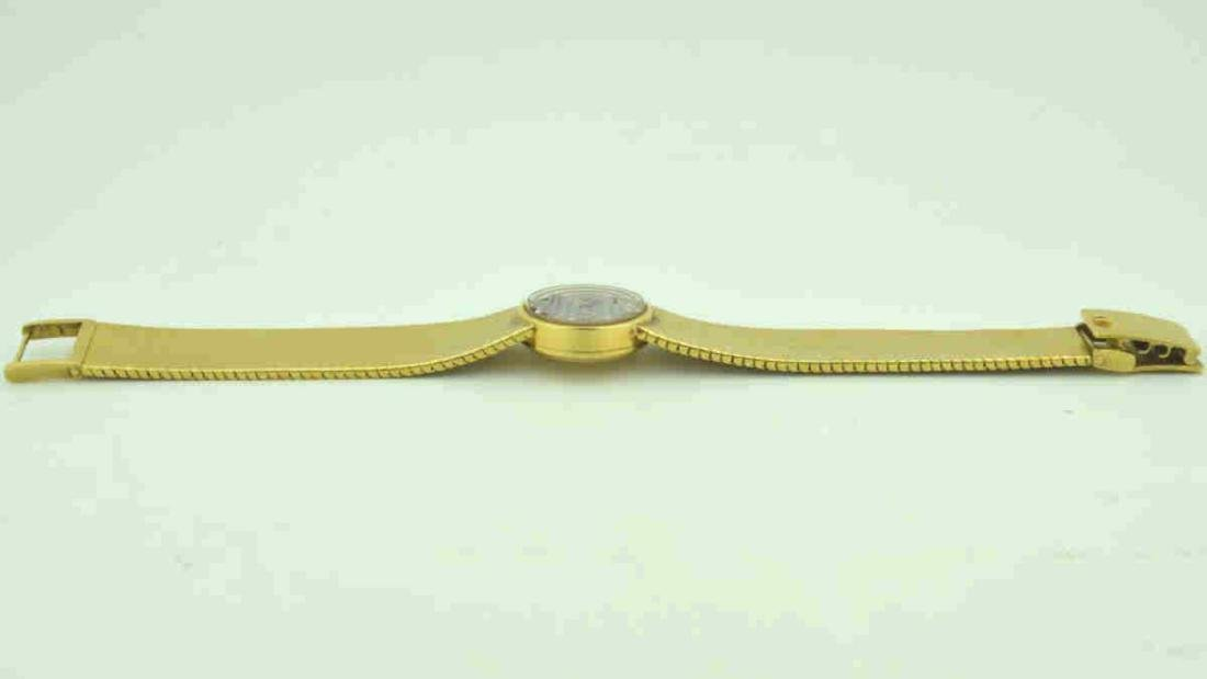 18kt yellow gold diamond Universal Geneve watch - 5