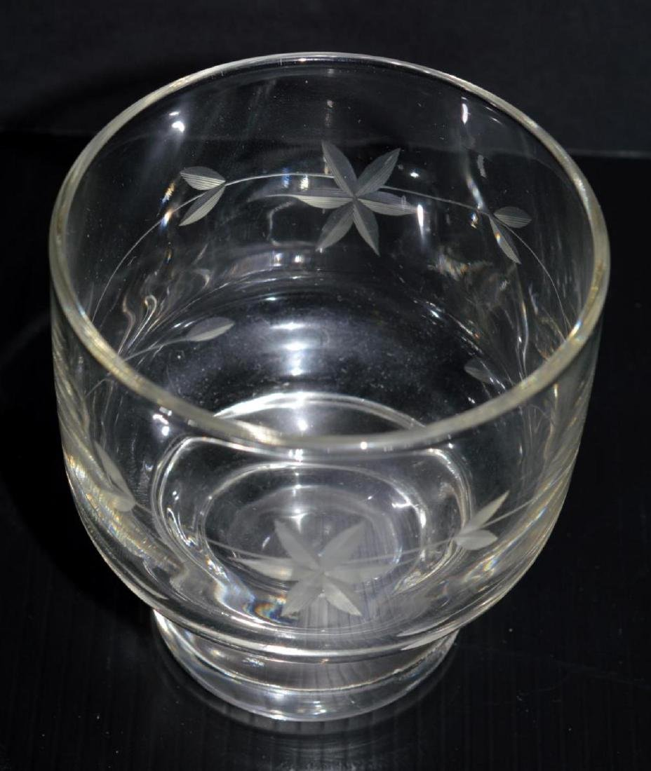 Glass Pitcher with Stir & Six Matching Glasses - 2
