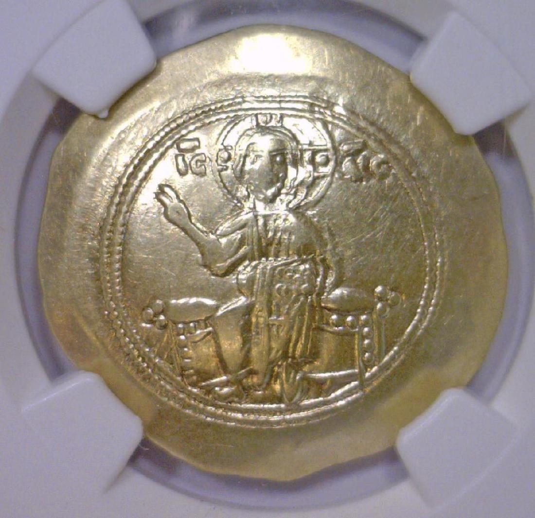 Byzantine Nicephorus Gold Hist Nomisma NGC XF