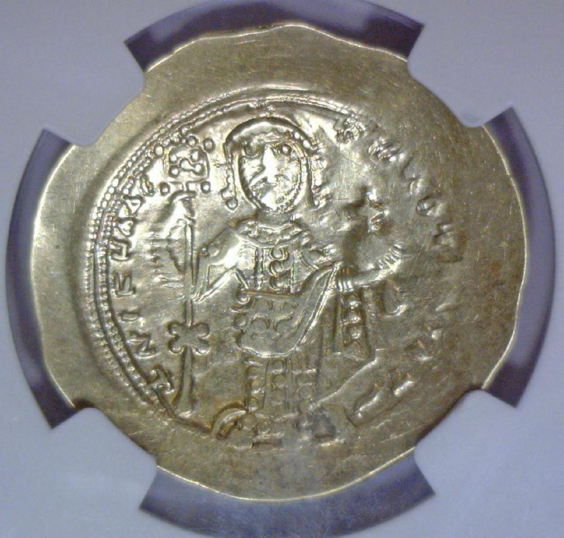 Byzantine Nicephorus Gold Hist Nomisma NGC XF - 3