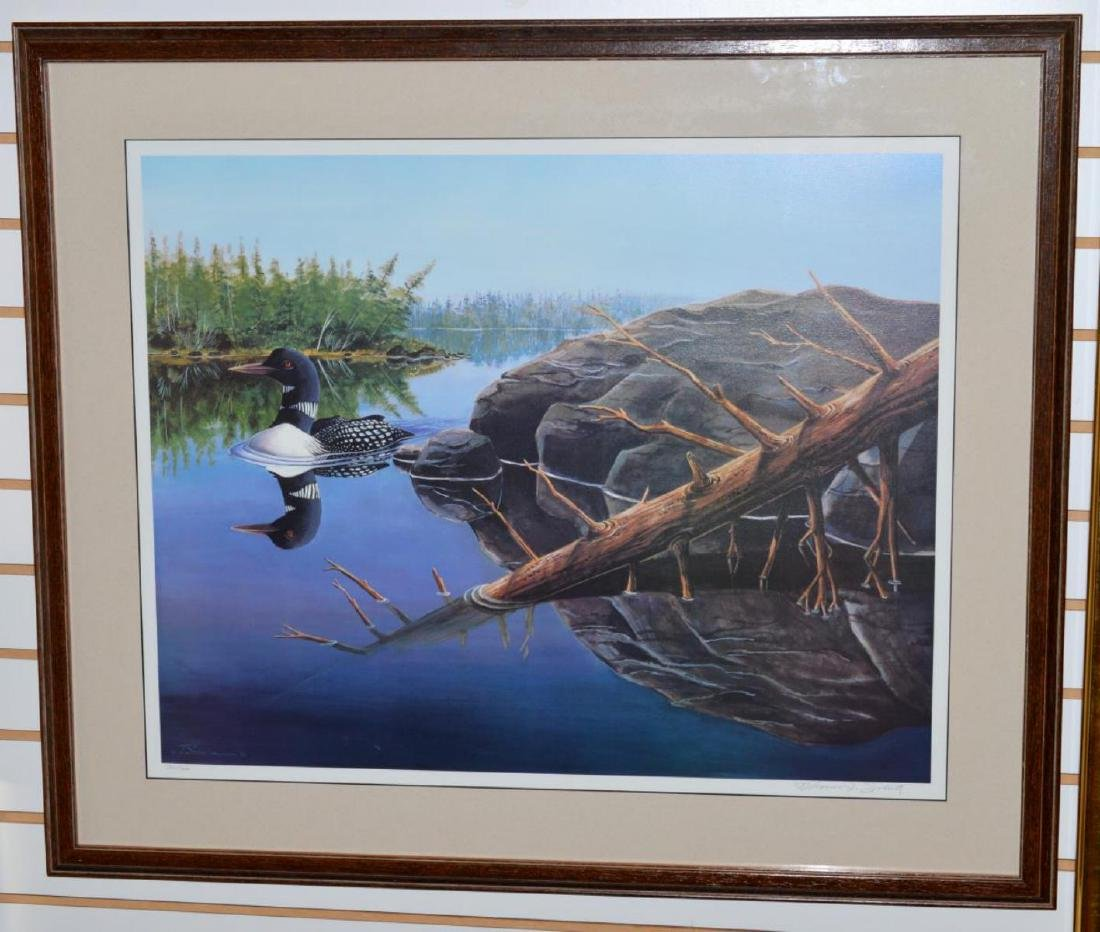 Thomas J Schultz Numbered Signed Framed Print
