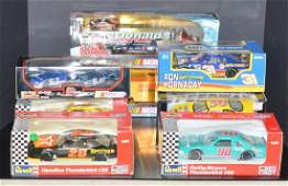 Lot of 8 Boxed Race Car Scale Toys Revell Action