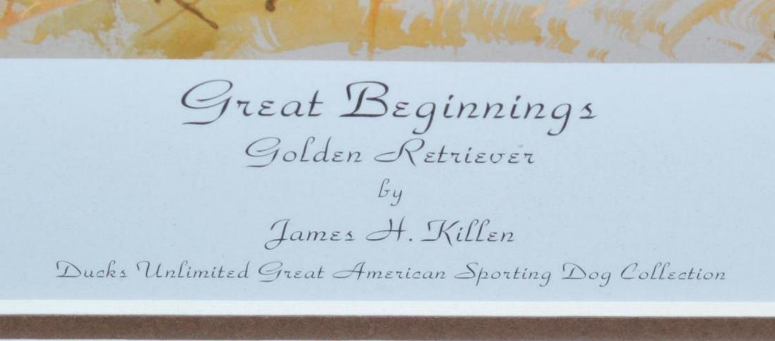 Framed Double Signed Numbered Print James H Killen - 4
