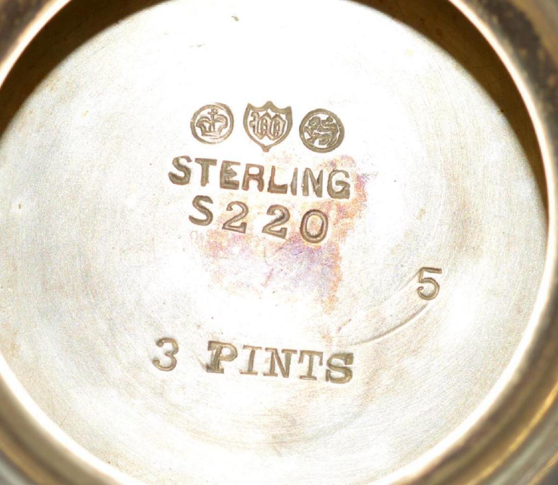 Watson Meadow Rose 4 pc. Sterling Silver Tea Set - 4