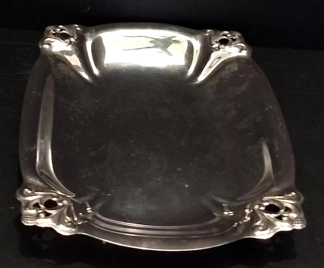 Royal Danish Sterling Silver Vegetable Tray H183-3 - 2