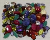 Loose 102.00ct parcel of mixed stones