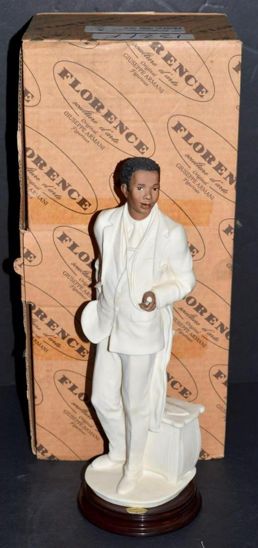 """1999 Armani """"Afro-American Doctor"""" Figurine #1321F"""