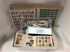 Small Stamp Collection Unused Sheets, US & World