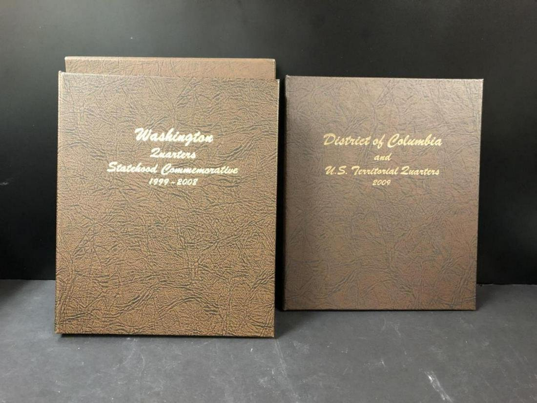 DANSCO 7143 COIN ALBUM U.S STATEHOOD QUARTERS P+D