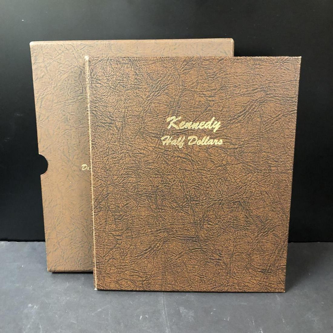 1964-2014 P&D Kennedy Half Album w/Key 70-D