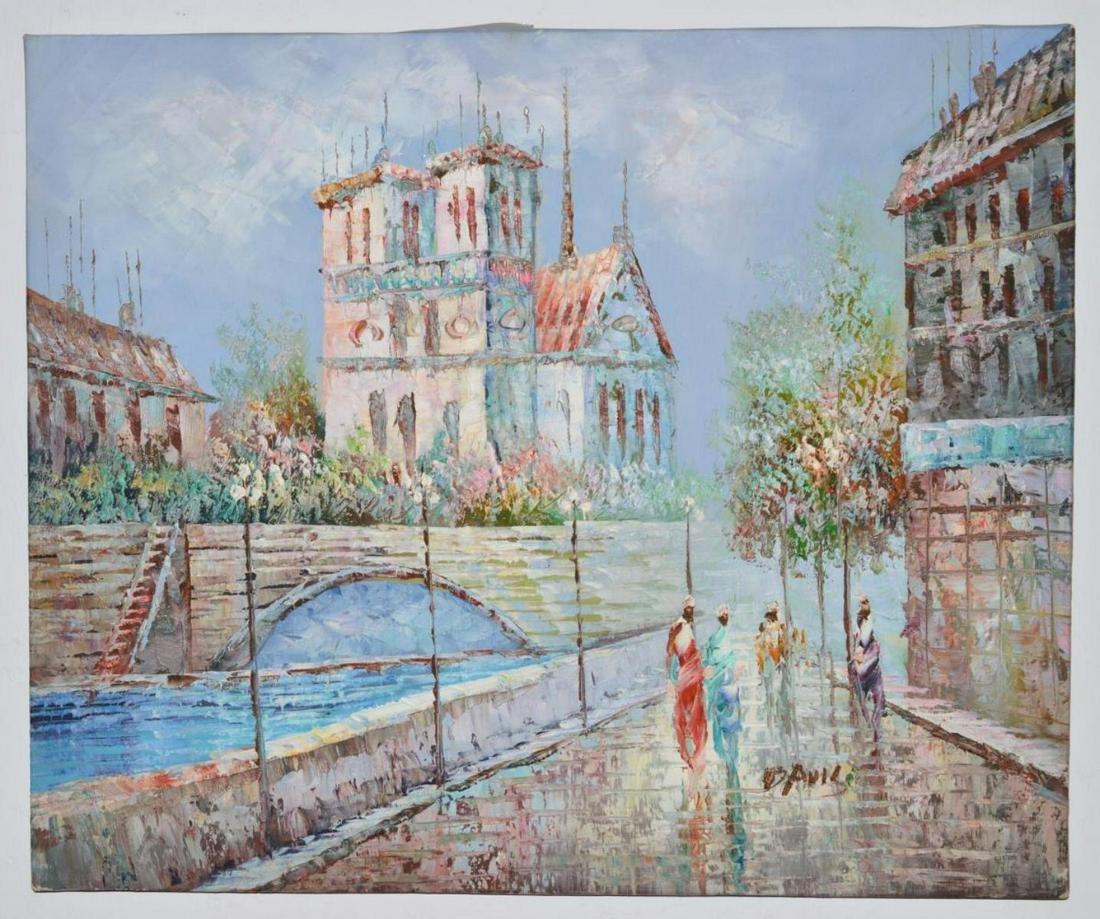 Original Contemporary Impressionist Painting