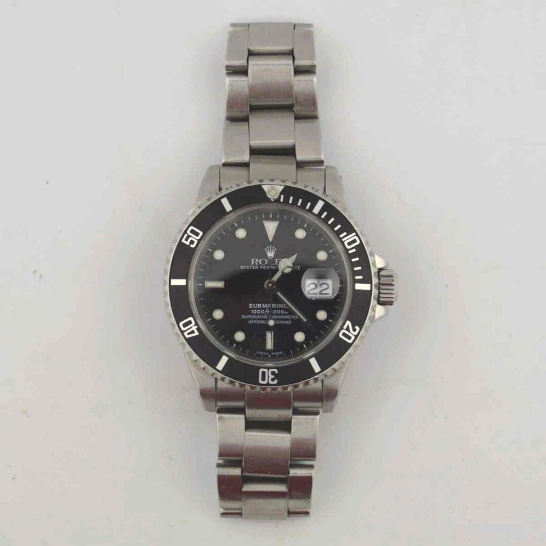 Stainless Steel Rolex Submariner watch