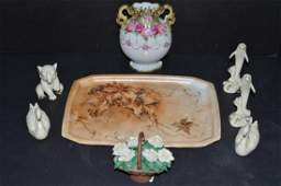 Lot of 8 Great Porcelain Collectible Decor Pieces