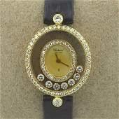 Ladies Chopard Happy Diamond Watch