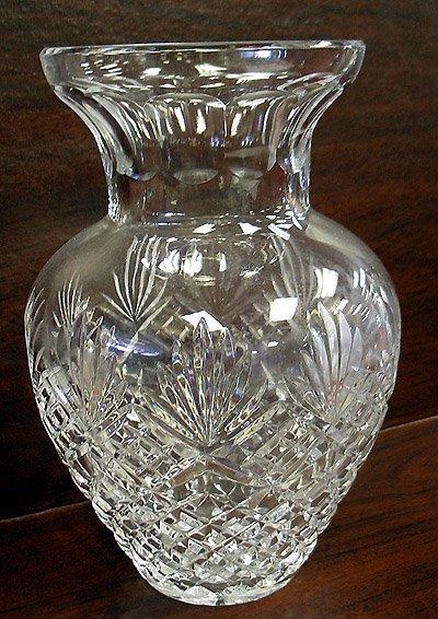 2001: Arcadia cut crystal vase