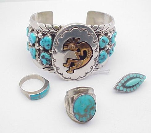 2016: Tommy Moore Turquoise Cuff Bracelet