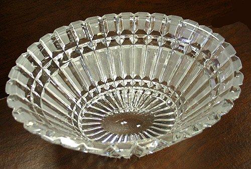 2023: Brilliant cut glass leaded bowl