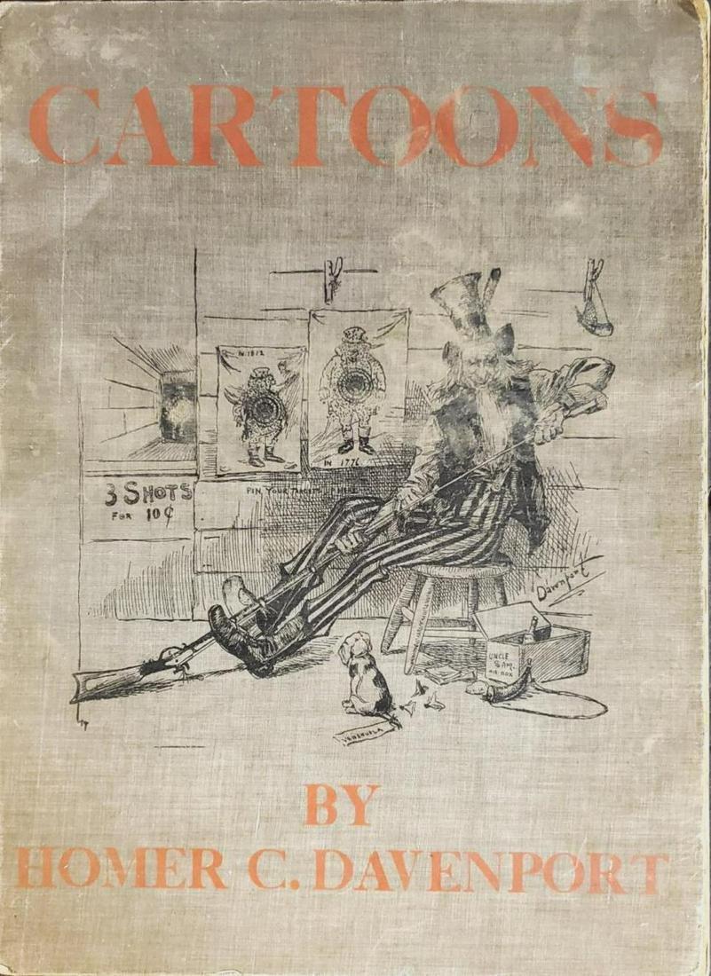 Book of Cartoons by Homer C. Davenport
