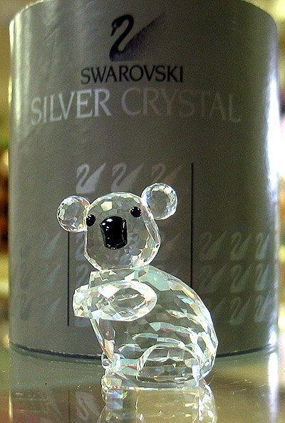 3004: Swarovski crystal koala #7673