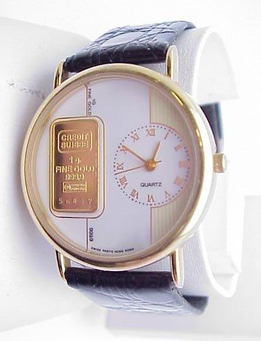 3003: Man's Sheffield Watch w/Credit Suisse