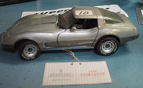 2010: 1978 Franklin Mint Stingray Corvette -  Die Cast