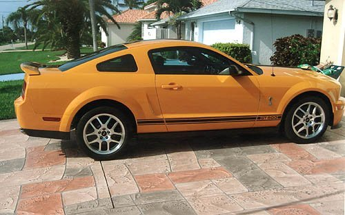3151: 2008 Ford Shelby Mustang GT500, 400 mi