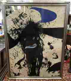 "Joan Miro Serigraph ""La Ruisselante Lunaire"" HC"