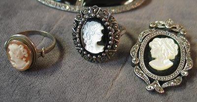 3004: Marcasite Jewelry, bracelets, necklace+