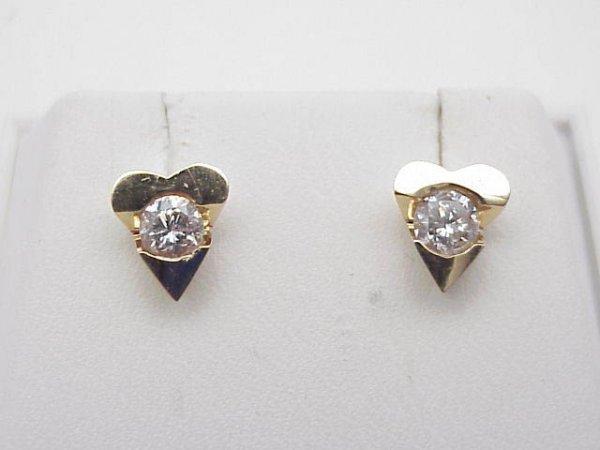 3020: Diamond studs .40 ctw