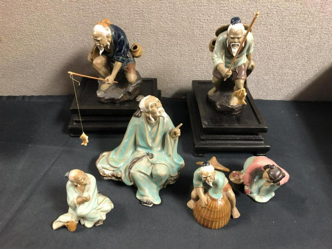 Lot Of Ancient Chinese Figurines