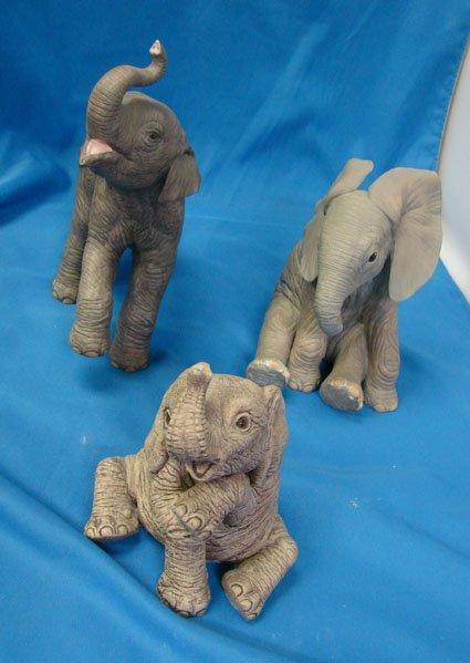 18: Lot of 3 Elephants 2 Lenox