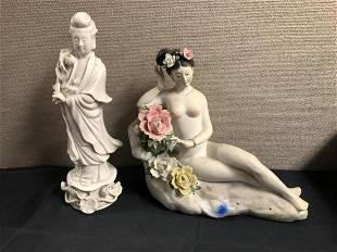 Pair Of Asian Figurines